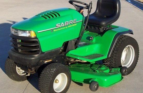 John Deere Sabre Garden Tractors 2048HV, 2254HV & 2554HV Service Manual