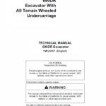 John Deere 690DR Excavator Technical Manual TMT124557