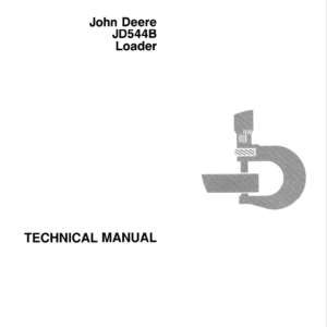 John Deere 544B Loader Service Manual TM-1094