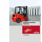 Linde Series 1218 Forklift Truck: HT25D, HT30D Repair Service Training Manual