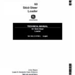 John Deere 60 Skid-Steer Loader Technical Manual TM-1185