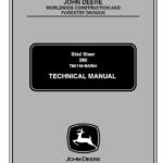 John Deere 280 Skid-Steer Loader Service Manual TM-1749