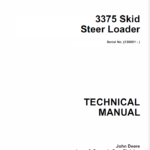 John Deere 3375 Skid-Steer Loader Service Manual TM-1565