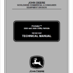 John Deere ProGator 2020, 2030 Utility Vehicle Service Manual TM-1759