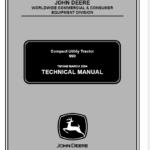 John Deere 990 Compact Utility Tractors Technical Manual TM-1848