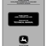 John Deere LX280, LX280AWS and LX289 Garden Tractors Technical Manual TM-2046