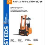 Still Electric Fork Truck R50: R50-10, R50-12, R50-15 Repair Circuit Workshop Manual