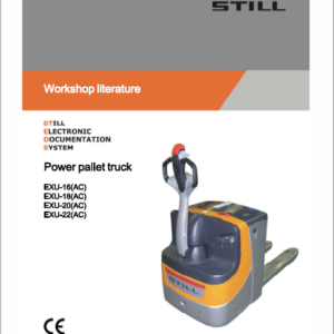 Still EXU-H, EXU-S, EXU-SF, EXU 16-20 Pallet Truck Workshop Repair Manual