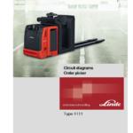 Linde 1111 Order Picker: N20VI, N20VLI Service Training (Workshop) Manual
