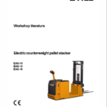 Still EXG10, EXG12, EXG16 Pallet Stacker Workshop Repair Manual