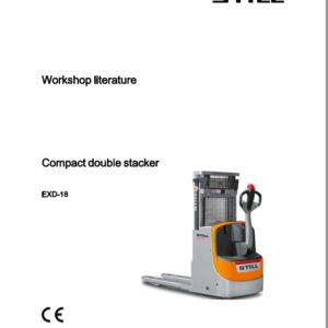 Still EXD-18, EXD-20, EXD-S-20 Double Pallet Stacker Workshop Repair Manual