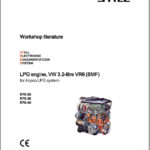 Still Engine VW 3.2 Litre VR6 (BMF) for Impco LPG System LPG Engine Workshop Repair Manual