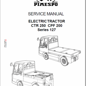 OM PIMESPO FIAT CTR 250, CPF 200, CTR 60 Workshop Repair Manual