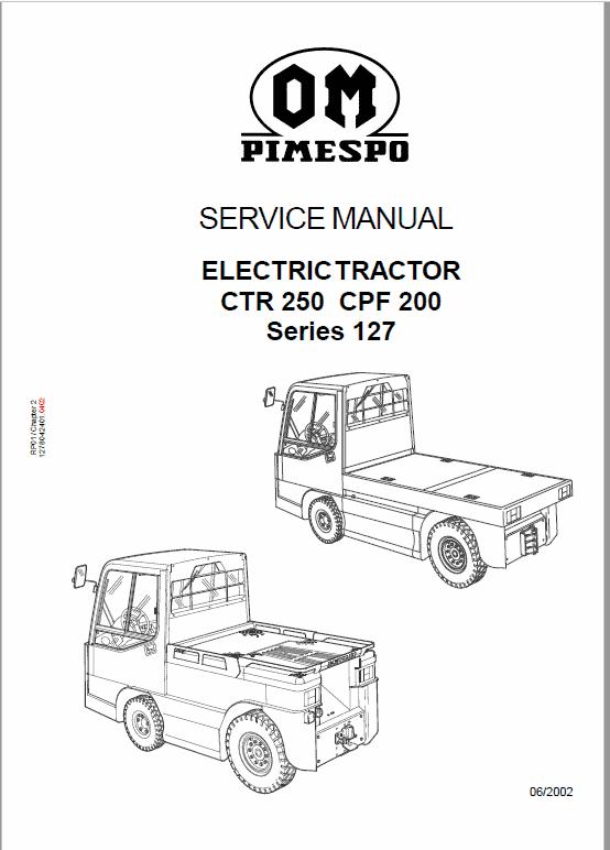 OM PIMESPO FIAT CTR 250, CPF 200, CTR 60 Workshop Repair Manual