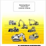 Liebherr Diesel Engines D934 A6 D936 A6 Service Manual