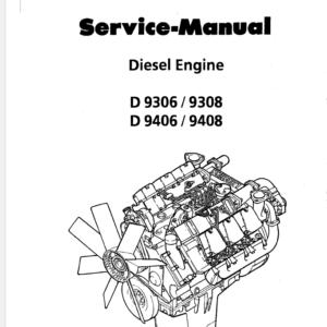 Liebherr Diesel Engine D9306 9308 9406 9408 Service Manual TM-1831 & TM-2224