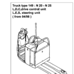Linde Type 149 Order Picker: N20-N25 Training (Workshop) Manual