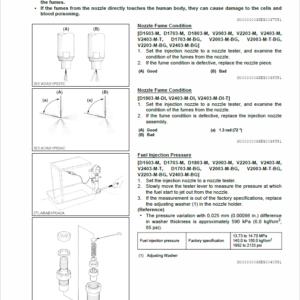 Still WSM 03-M-E3B, 03-M-E3BG Kubota Engine Workshop Repair Manual