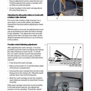 Still FM-X-10 – FM-X-25 all Model Reach Truck Workshop Repair Manual