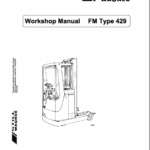 Still FM Type 429 and Type 447 Reach Truck Workshop Repair Manual