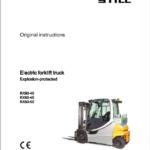 Still Electric Forklift Truck RX60: Model RX60-40, RX60-45, RX60-50 Repair Manual