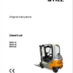 Still Electric Forklift Truck RX70: RX70-16, RX70-18, RX70-20 Repair Manual