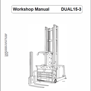 OM PIMESPO CTR Dual 10, Dual 13, Dual 15-3, Dual 15-4 Workshop Repair Manual