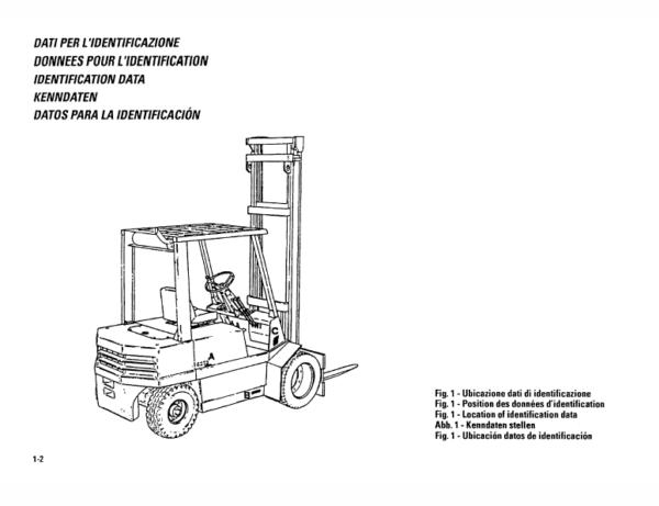 OM PIMESPO FIAT DI30CH, DI35CH, DI40C, DI50C Workshop Operating Repair Manual