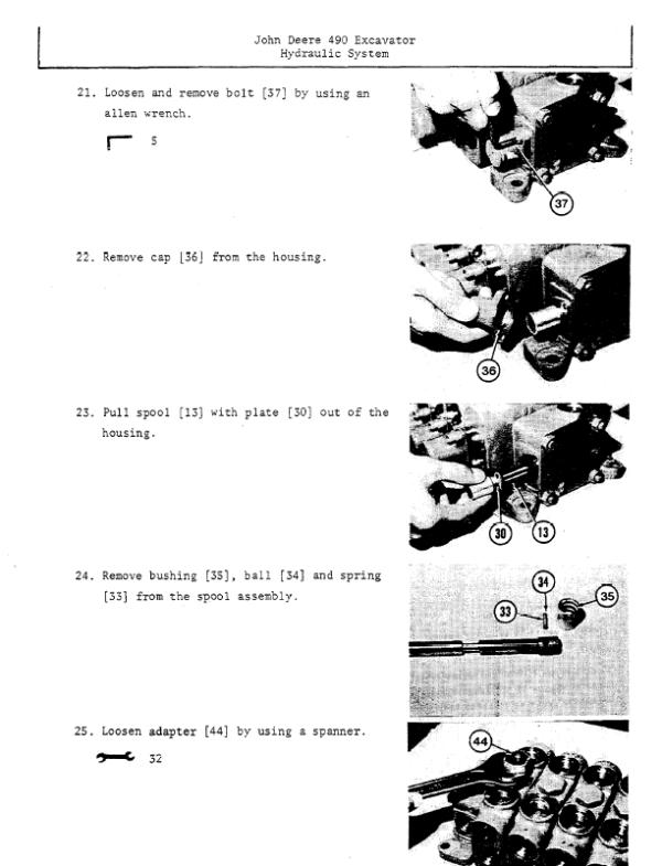 John Deere 490 Excavator Service Manual TM-1302