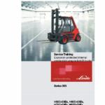 Linde Type 353 Forklift Truck: H50, H60, H70, H80 Repair Service Training Manual