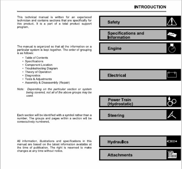 John Deere 2653, 2653A Utility Mower Service Manual