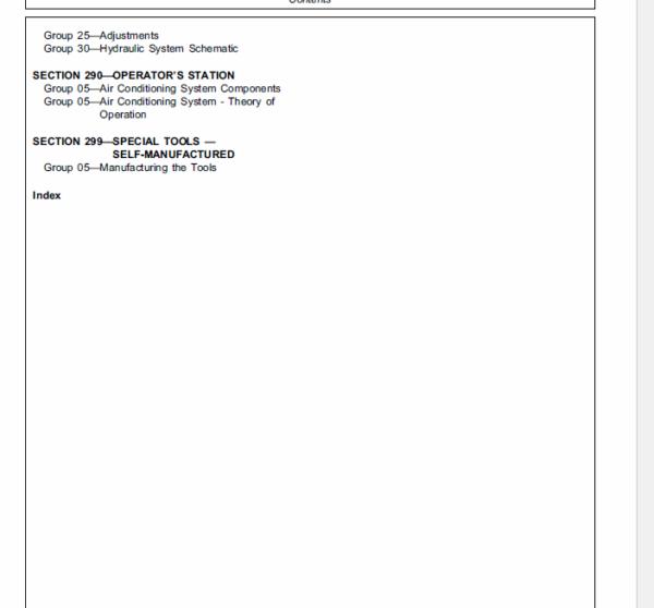 John Deere 5300N, 5400N, 5500N Tractors Service Manual