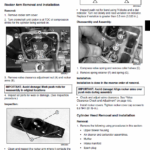 John Deere LX280, LX280AWS and LX289 Garden Tractors Service Manual TM-2046