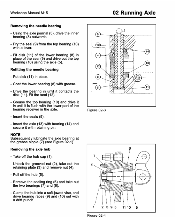 Still M15 and M15T Forklift Truck Workshop Repair Manual