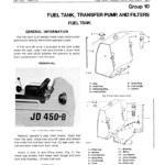 John Deere 450B Crawler Tractor Service Manual TM-1033
