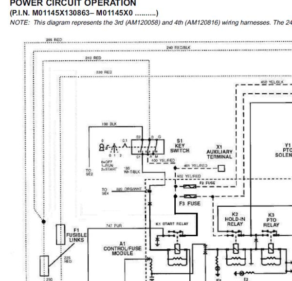 John Deere F1145 Front Mower Service Manual TM-1519