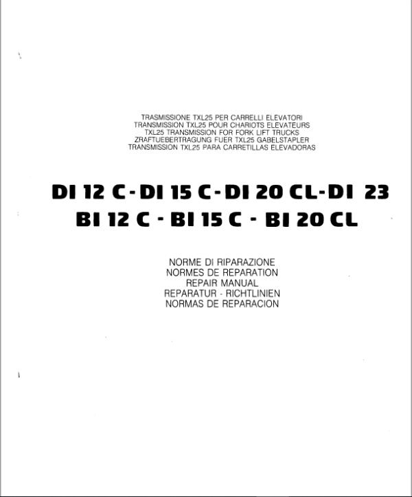 OM PIMESPO FIAT – D15, D18, D20, D23, G15, G18, G20, G23? Engine Repair Manual