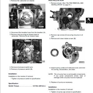 John Deere Sabre Tractors 1948GVHV, 2148HV, 2354HV, 2554HV Service Manual