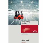 Linde Series 1283 Diesel Forklift Truck: HT25D HT25Ts HT30D HT30Ts Repair Service Manual