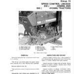 John Deere 850, 900HC, 950 and 1050 Tractors Service Manual TM-1192
