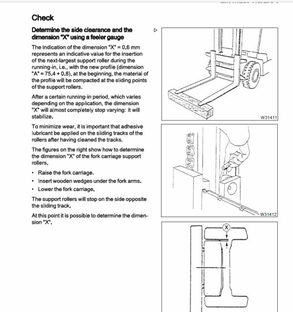 Still Diesel LPG Forklift Trucks RC40: RC40-16, RC40-18, RC40-20 Workshop Manual