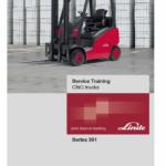 Linde 391 Forklift Truck : H14T, H16T, H18T, H20T Service Training Manual