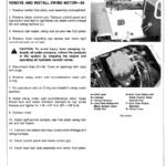 John Deere 30, 50 Excavator Service Manual TM-1380