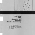 John Deere 690C, 693C Excavator Service Manual