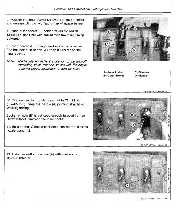 John Deere 992D-LC Excavator Service Manual TM-1462 & TM-1463