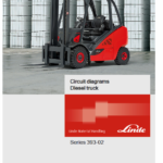 Linde Type 393 Forklift Truck H-Series: H25D-02, H30D-02, H35D-02 Repair Service Manual