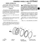 John Deere 670A, 672A Motor Grader Service Manual TM-1188