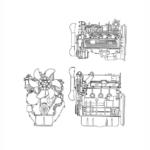 OM Pimespo 4D98E Diesel Engine For Forklift Trucks Shop Manual