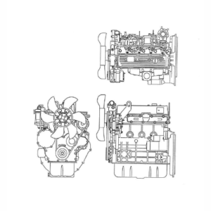 OM Pimespo 4D98E Diesel Engine For Forklift Trucks Shop Manual
