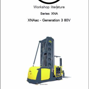 OM Pimespo XNA ac – Generation 3 80v Side Loader Workshop Repair Manual